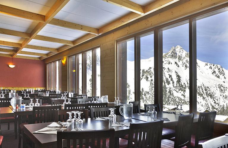 restaurant hotel Arc 2000 Les Mélèzes