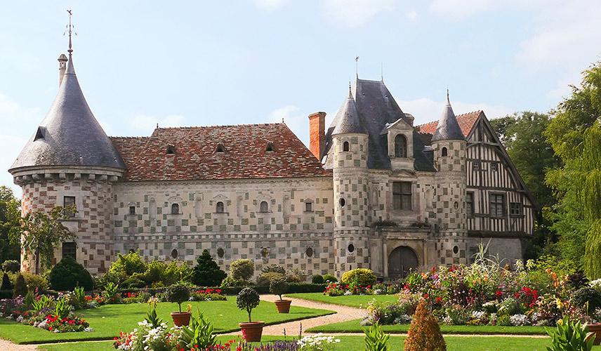 Château de Saint-Germain de Livet, séjour de vacances d'été à Auberville