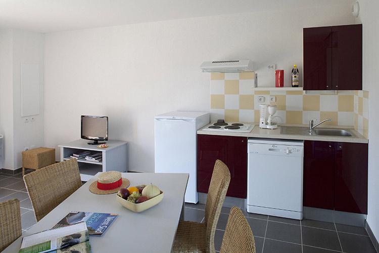 Coin cuisine résidence Club Aubignan