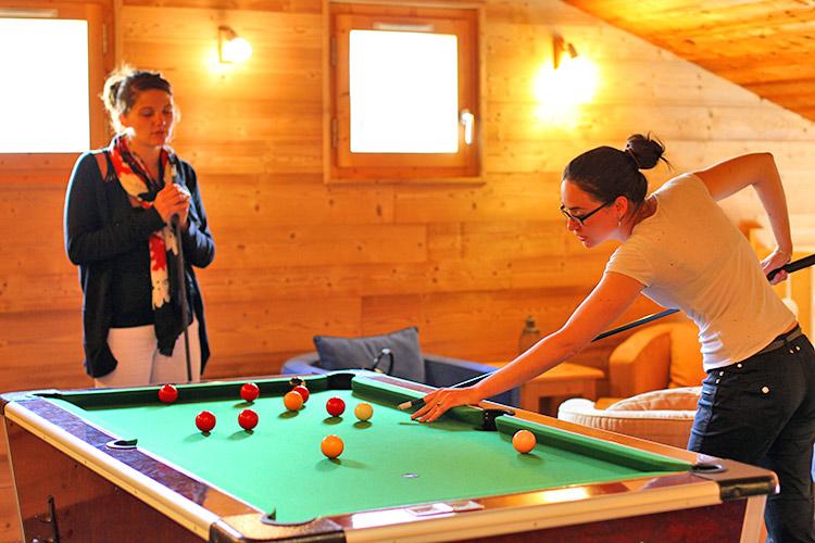 espaces de loisirs : hébergement été Belle Plagne
