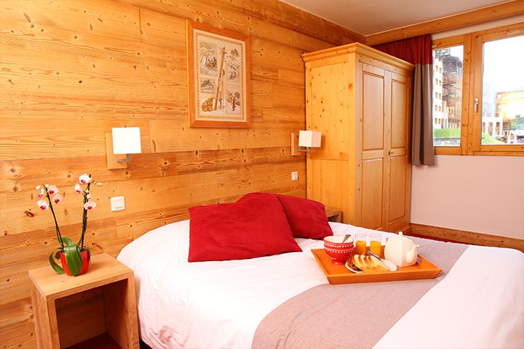 Réservation chambre résidence Belle Plagne