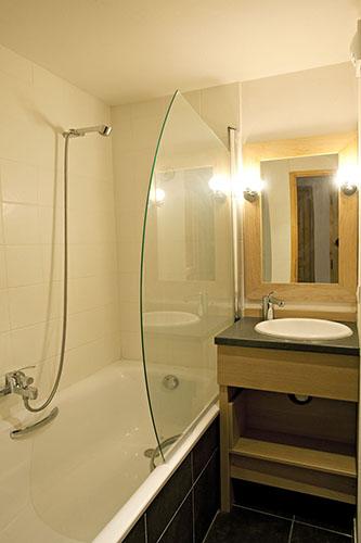 Salle de bain : location Le Centaure Belle Plagne