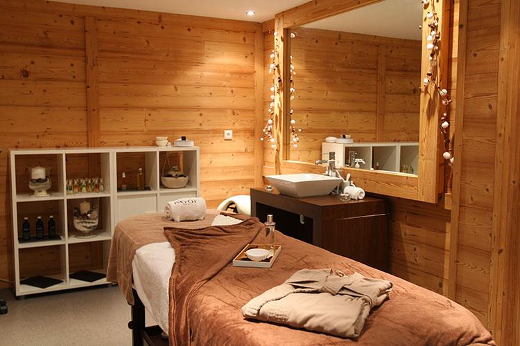 Soins et massages : résidence été Belle Plagne