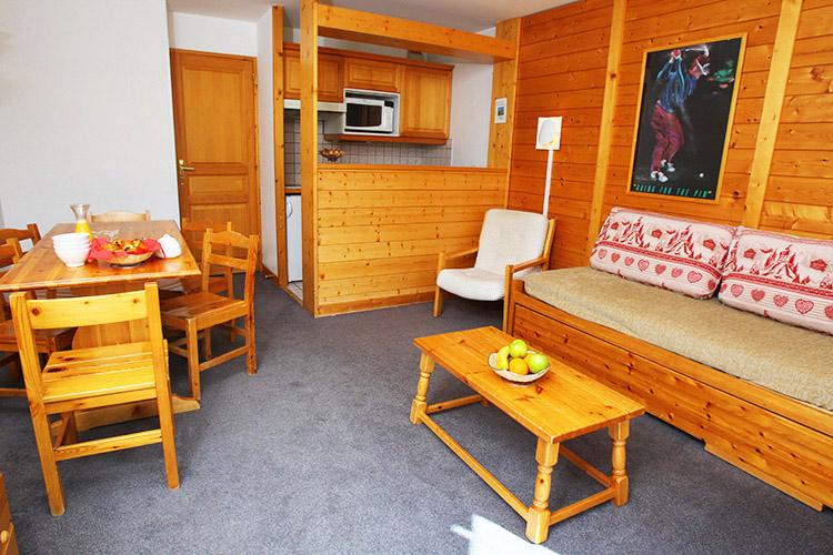 Hôtel Club et Résidence Club mmv Courchevel, Le Golf, Savoie, appartements