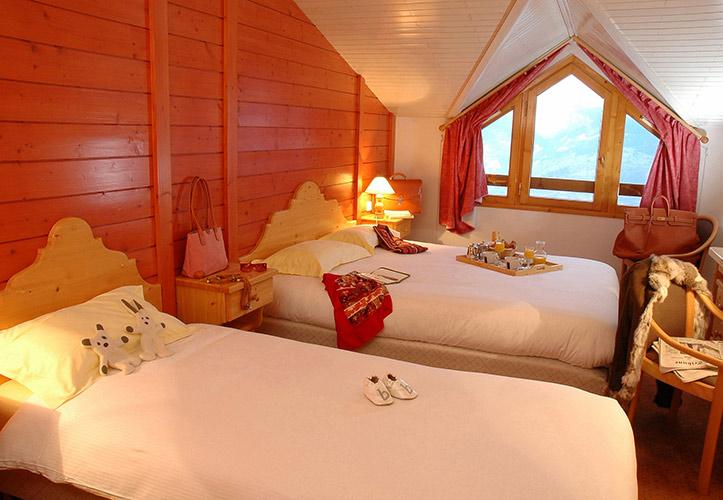 Hôtel Club et Résidence Club mmv Courchevel, Le Golf, Savoie, chambres