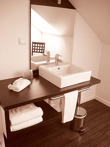 Salle de bain : hébergement Dinan