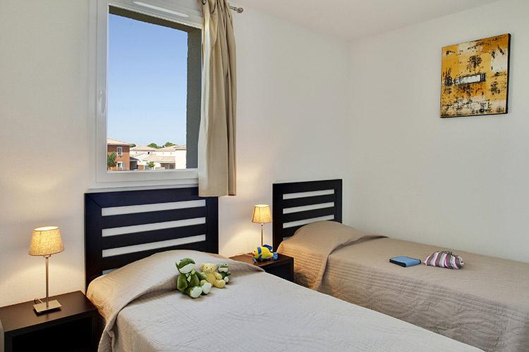Résidence Club Fabrègues, Le Domaine du Golf, Languedoc-Roussillon, chambre