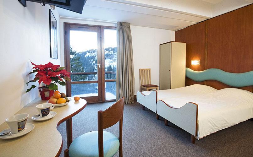 Réservation chambre hôtel club Flaine