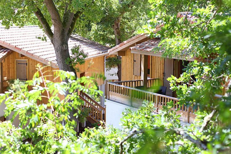 Résidence Détente*** Lacanau, Les Rives du Lac, Gironde, terrasses