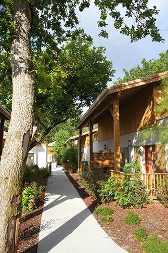 Résidence Détente*** Lacanau, Les Rives du Lac, Gironde, jardins