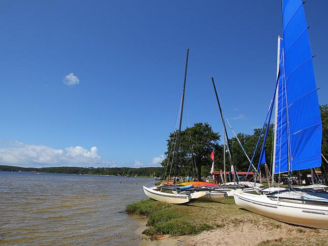 Résidence Détente*** Lacanau, Les Rives du Lac, Gironde, Lac
