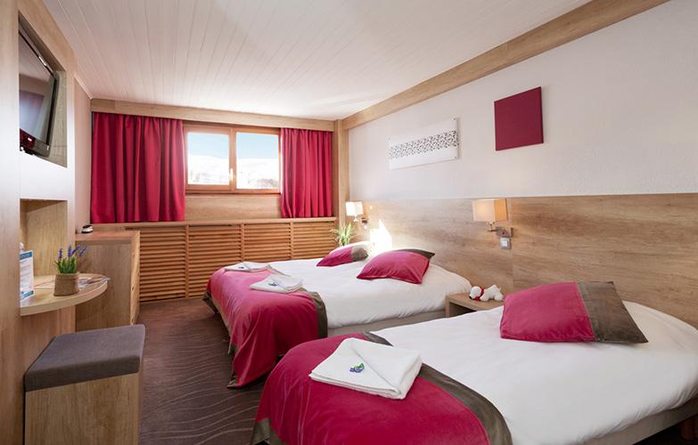 Réservation chambre Hôtel Club Les 2 Alpes