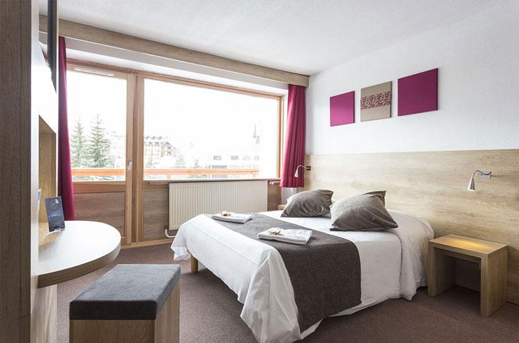 Hôtel Club mmv Les 2 Alpes, Le Panorama - chambres
