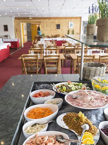 Hôtel Club mmv Les 2 Alpes, Le Panorama - buffet