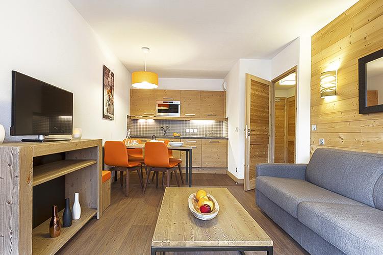 Résidence Club**** mmv Les Menuires, Le Coeur de Loges, Savoie, Appartement