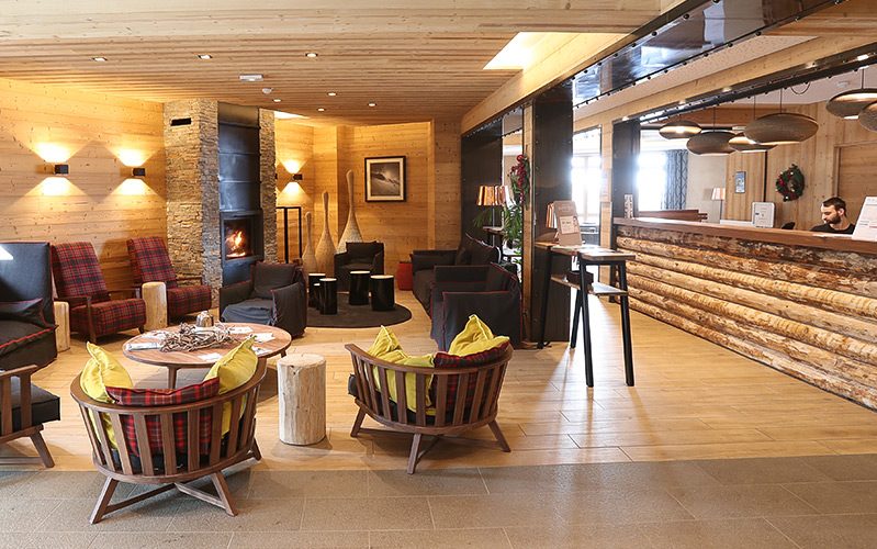 Résidence Club**** mmv Les Menuires, Le Coeur de Loges, Savoie, Réception