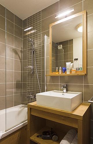 Résidence Club**** mmv Les Menuires, Le Coeur de Loges, Savoie, Salle de bain