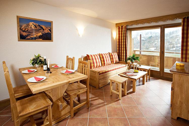 Montgenèvre résidence club mmv**** le hameau des airelles, appartement