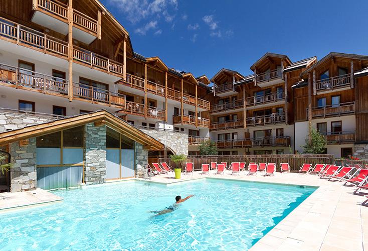Montgenèvre résidence club mmv**** le hameau des airelles