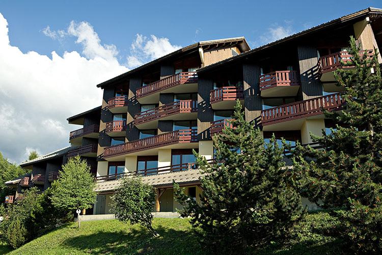 Plagne Montalbert hôtel club les sittelles, extérieur