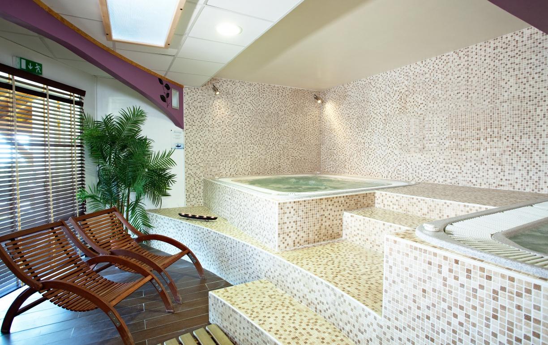 Spa hôtel club les sittelles à Plagne Montalbert