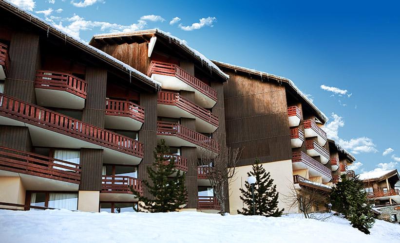 Plagne Montalbert hôtel club les sittelles