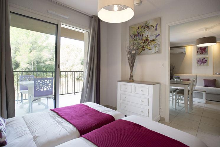 Résidence club mmv Pont du Gard, Le Pont du Gard, Gard, Chambre
