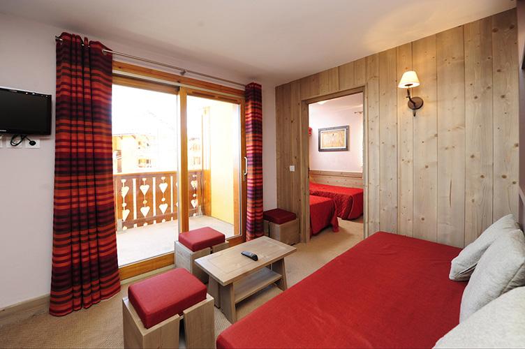 Réservation chambre résidence Risoul