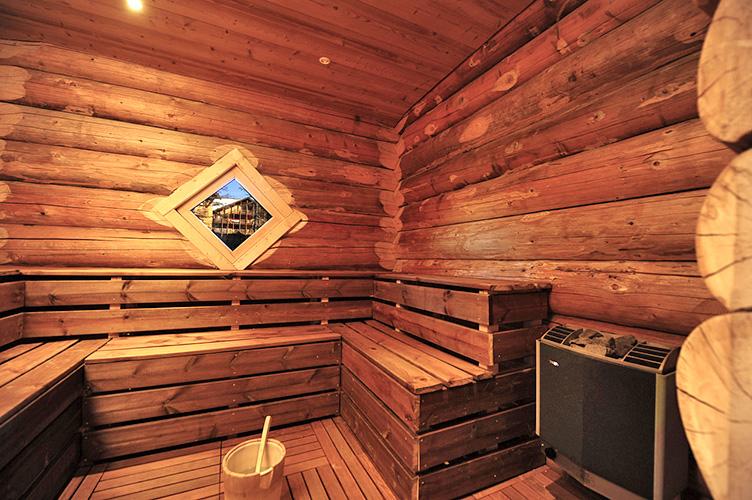 Sauna : Résidence club Antarès, Risoul