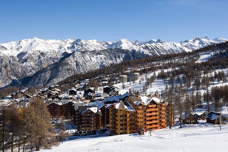 Séjour de vacances ski à Risoul en résidence club
