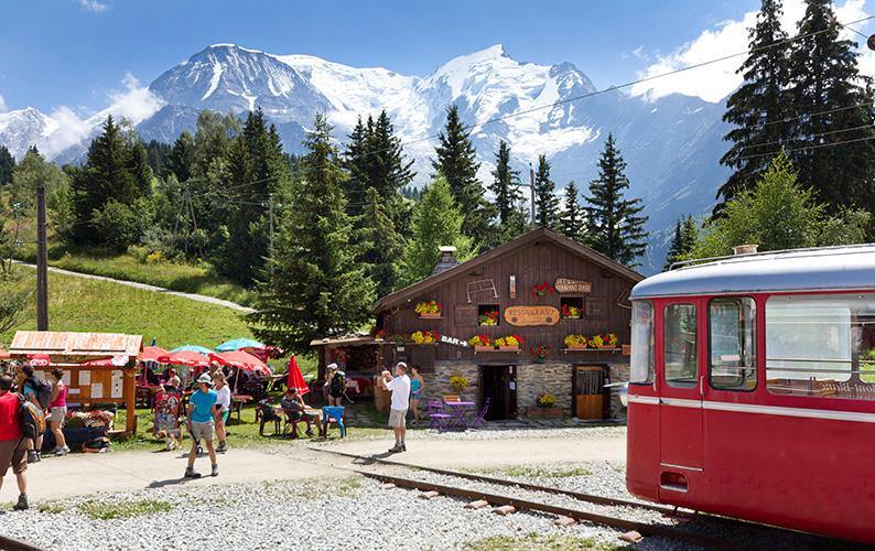 Hôtel Club mmv Saint-Gervais Mont-Blanc, le monte bianco, Haute Savoie, tramway