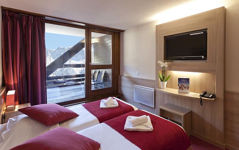 Hôtel Club mmv Saint-Gervais Mont-Blanc, Le Monte Bianco, Haute-Savoie, chambres