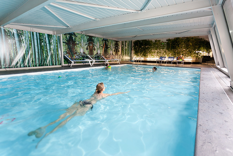 Hôtel Club mmv Saint-Gervais Mont-Blanc, Le Monte Bianco, Haute-Savoie, piscine