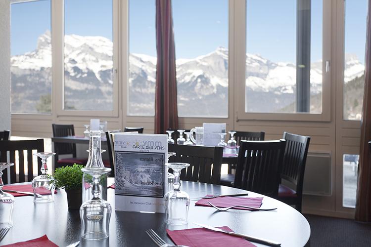 Hôtel Club mmv Saint-Gervais Mont-Blanc, Le Monte Bianco, Haute-Savoie, restaurant