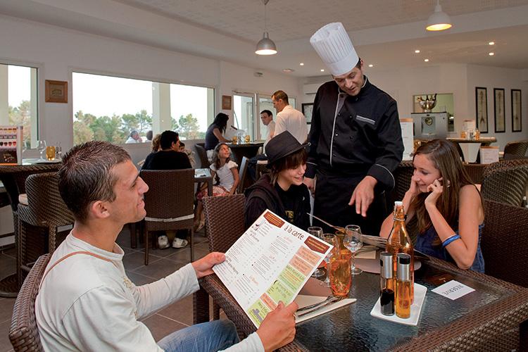 Résidence Détente*** Signes, Le domaine de Manon, restaurant