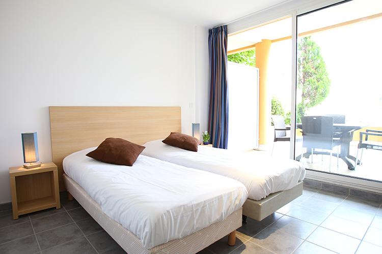 Résidence Détente Théoule, Horizon bleu, Théoule-sur-mer, chambres