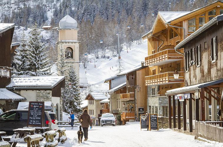 week-ski à Tignes, Les Brévières
