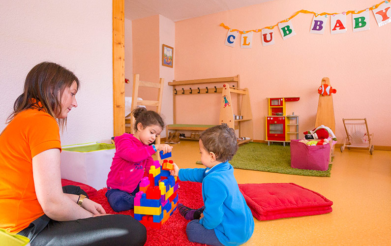 Hotel Club Tignes club enfants