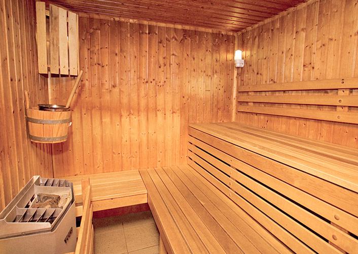 Hotel Club Tignes sauna