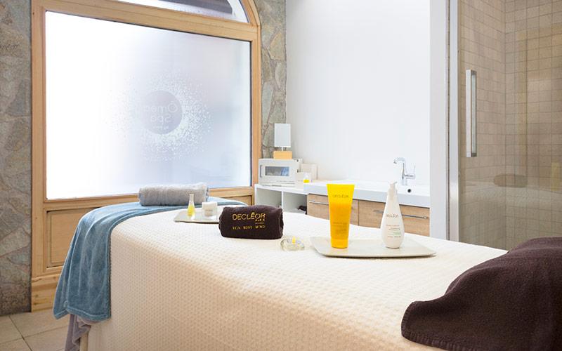 Hotel Club Tignes spa massage