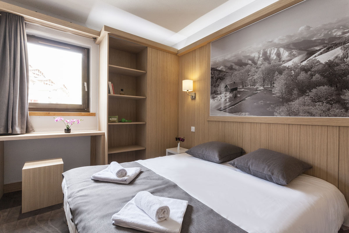 mmv Hotel Club Val Thorens, Les Arolles, Savoie, french Alps, rooms