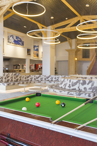 mmv Hotel Club Val Thorens, Les Arolles, Savoie, french Alps, pool room