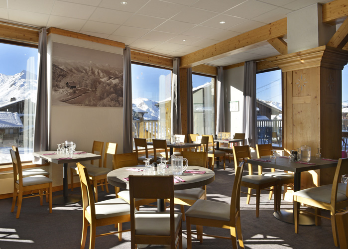 mmv Hotel Club Val Thorens, Les Arolles, Savoie, french Alps, restaurant