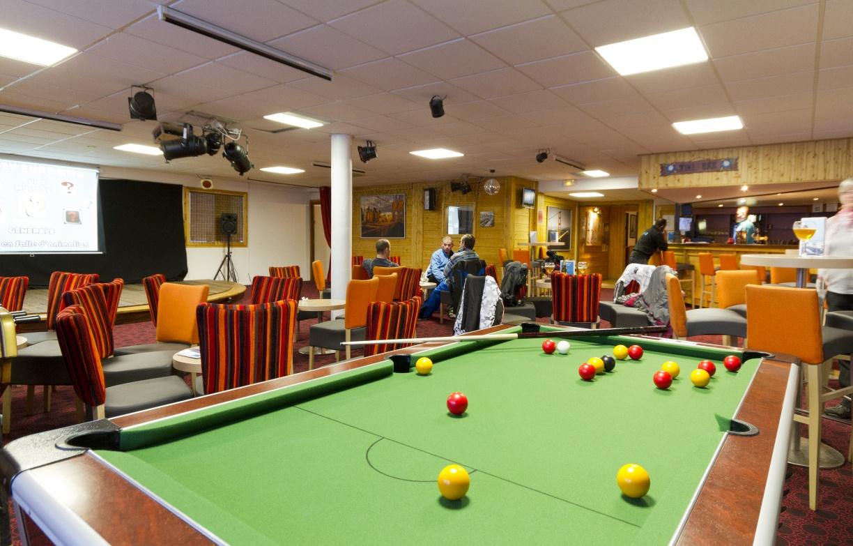 Hotel Club Val Thorens, billard
