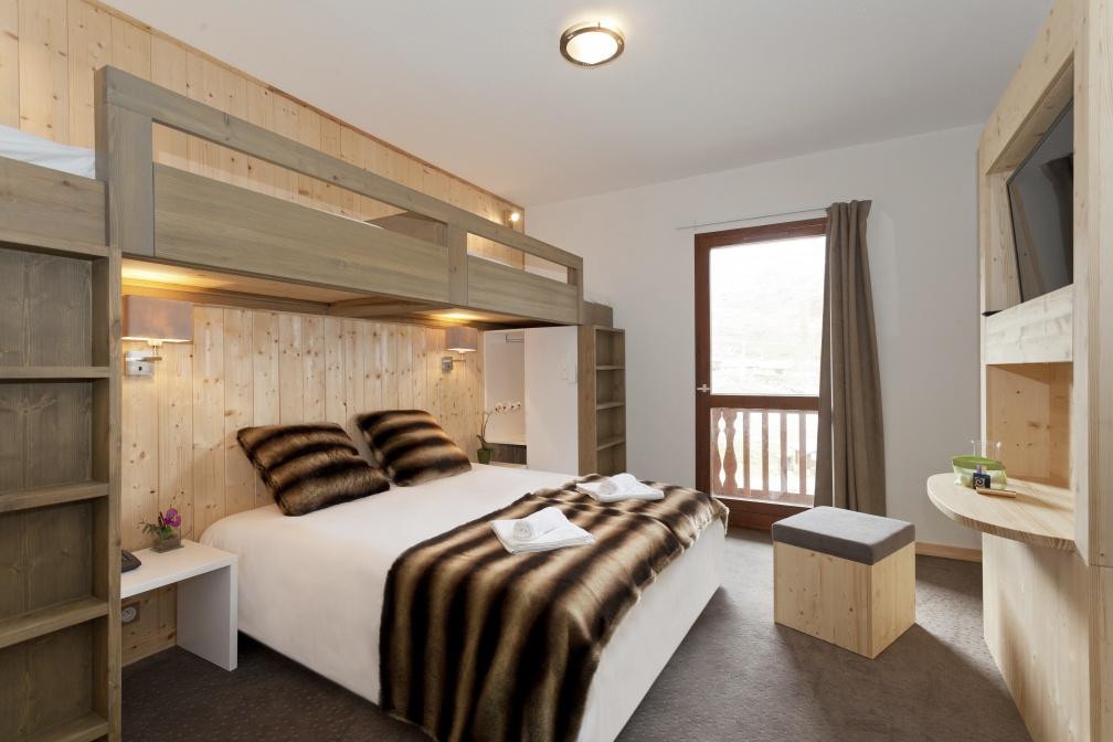 Des chambres au confort chaleureux