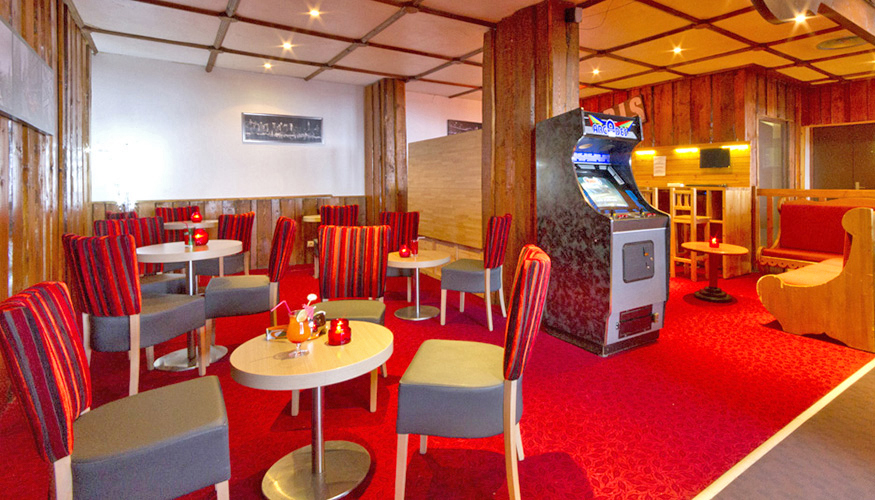 mmv Hotel Club Val Thorens, Les Neiges, Savoie, french Alps, bar