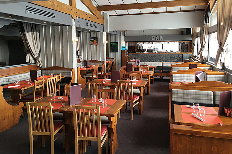 mmv Hotel Club Val Thorens, Les Neiges, Savoie, french Alps, restaurant