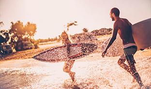 Surf and co à Lacanau...