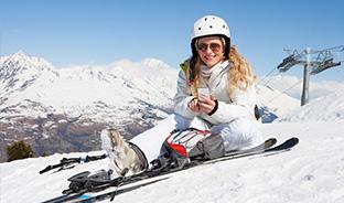 Téléchargez avant de skier !