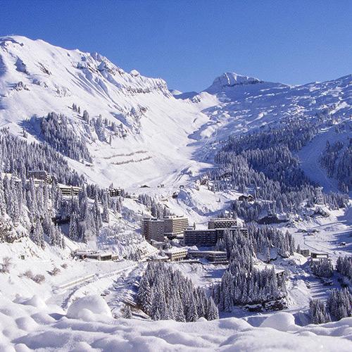 destination flaine french alps